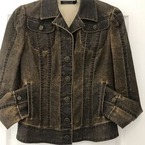 Peruvian Connection Distressed Jacket